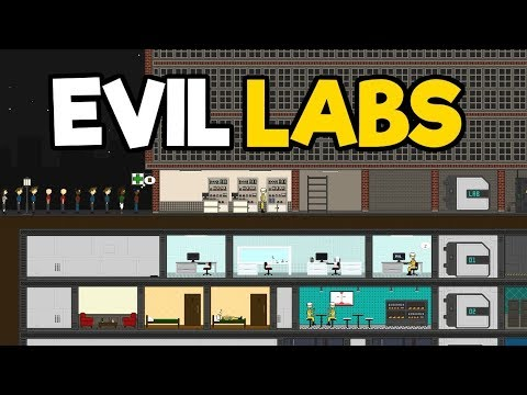 Evil Labs Gameplay Impressions - Base Building Management and Build Your Own Plague!