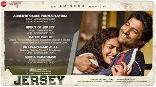 Jersey - Full Movie Audio Jukebox   Nani & Shraddha Srinath   Anirudh Ravichander