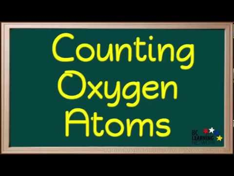 BCLN - Counting  Oxygen Atoms - Chemistry