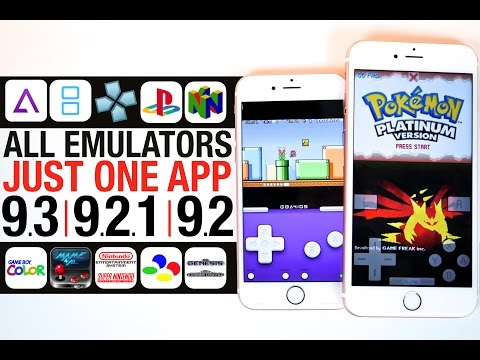 All Emulators iOS 9.3, 9.2.1 & 9.2 - GBA, NDS, PSP, PS1, & N64!