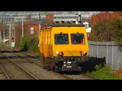 Irish Rail Inspection Car & TRV movements around the Dublin Area.