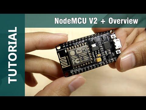 ESP8266 NodeMCU V2 WiFi IOT Arduino IDE Compatible Module Overview