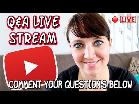 🔴 LIVE - Q & A Live Stream | I Am Kristin 📍