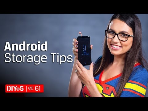 More Android Disk Space Tips 💾 DIY in 5 Ep 61