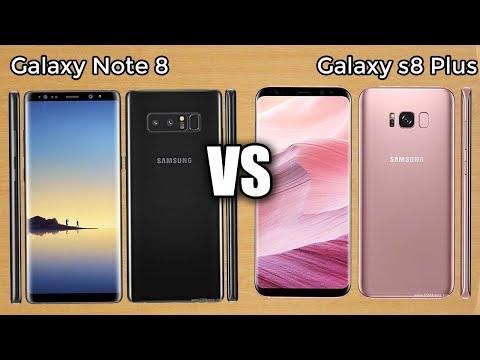 Samsung Galaxy Note 8 vs. Galaxy S8 Plus Specs Comparison!