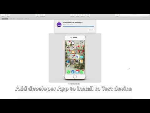 Installing developer APP on Test Devices Using Apple Configurator 2