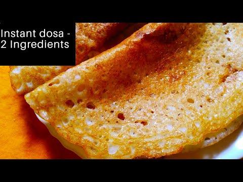 Instant curd dosa recipe-Dosa in 7 minutes-Quick breakfast recipe