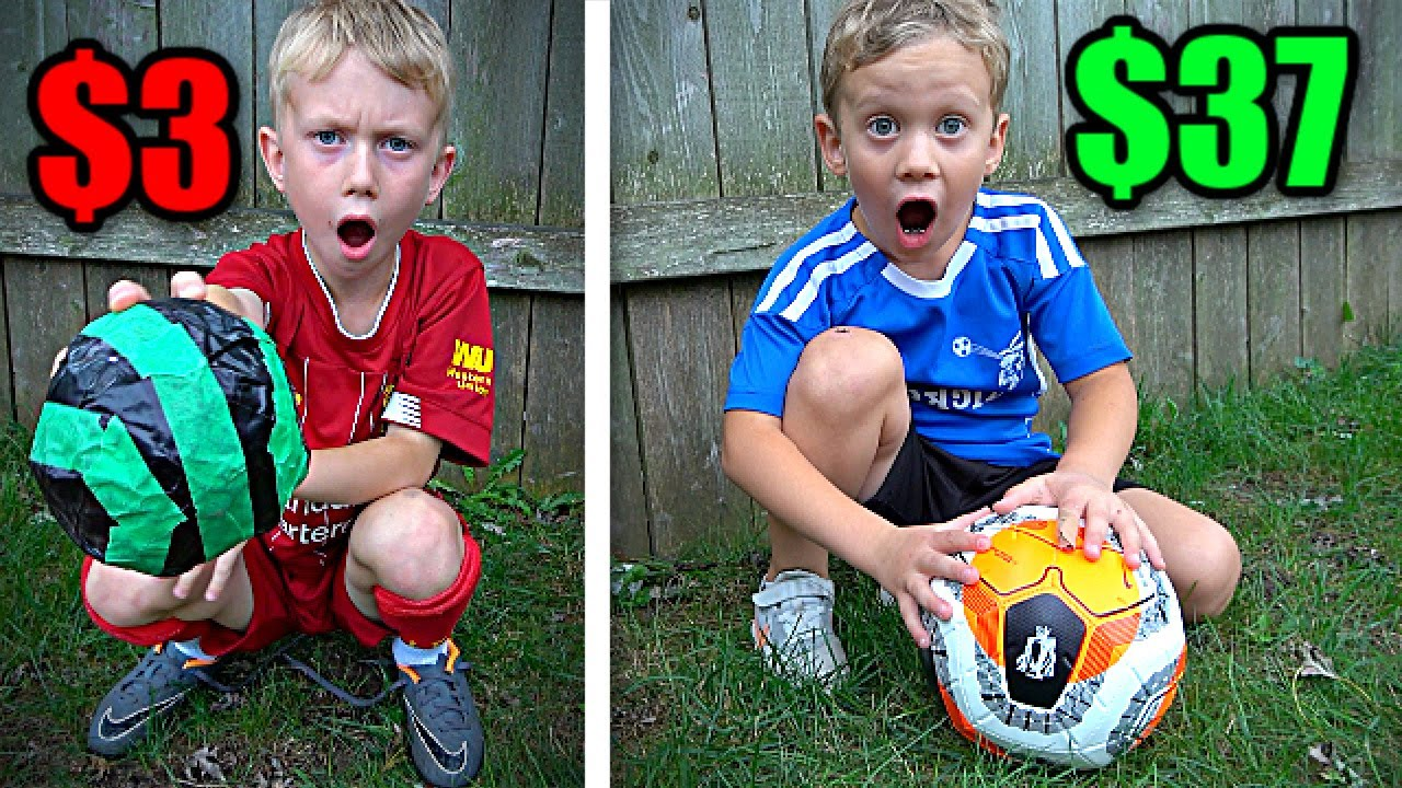 $3 vs $37 SOCCER BALLS *Which is better*
