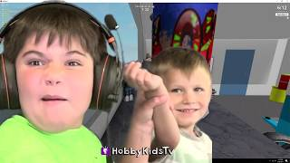 Roblox Real Life Hide 'n' Seek! Ultimate Hide and Seek Video Gaming Family Fun HobbyKidsTV