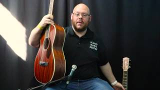 Download Fender Paramount Series PM-2 Parlor vs PM-3 Cutaway Comparison Video