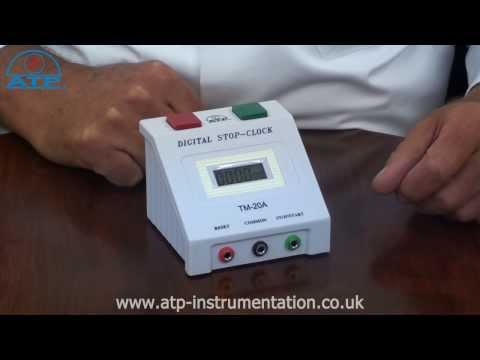 Bench Process Stop-Clock Timer | ATP Instrumentation