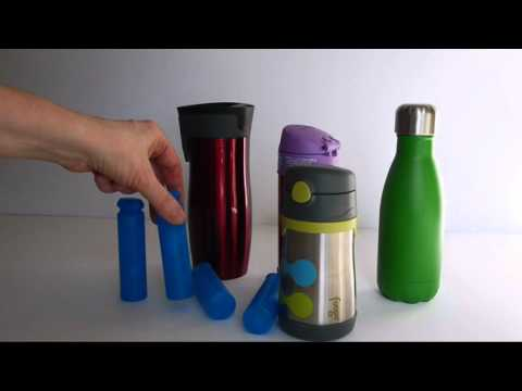 Water Bottle Ice Pack - better than reusable ice cubes