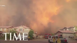 Flames Inch Close To California Homes, Prompting Evacuation Orders For 20,000 | Time