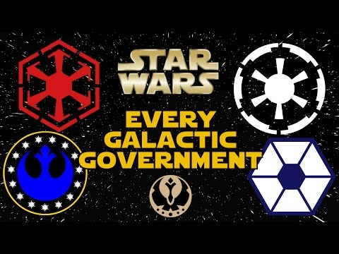 Every Galactic Government in Star Wars (Legends) - Star Wars Explained