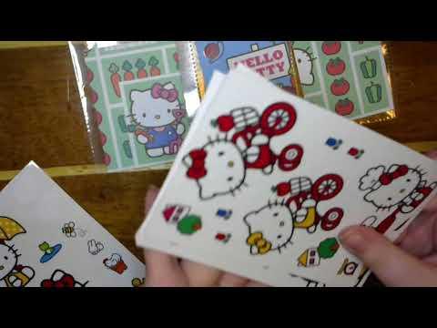 Gardening Hello Kitty Mini Pocket Letter