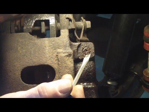 Broken Brake Bleeder Screw Removal