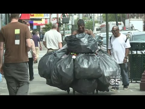 Expensive New Trash Cans Designed To Stop San Francisco's Dumpster Divers