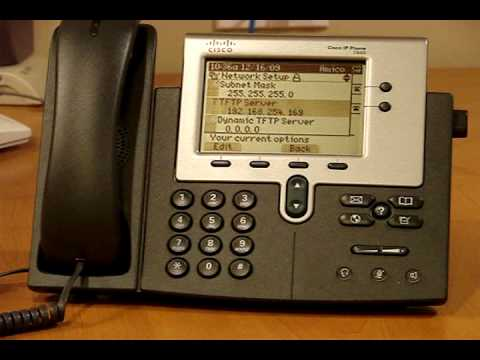 Cisco Phones on Asterisk Elastix.wmv