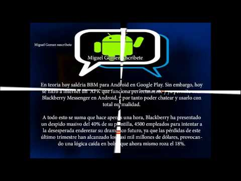 DOWNLOAD: Blackberry Messenger (BBM) For Android