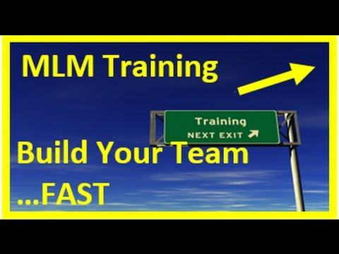 MLM Training : MLM Training To Build Your Own Team Quickly