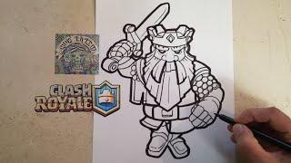 Como Dibujar Al Montapuercos Clash Royale How To Draw Pig Push
