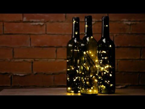 DIY Wine Bottle Accent Lights