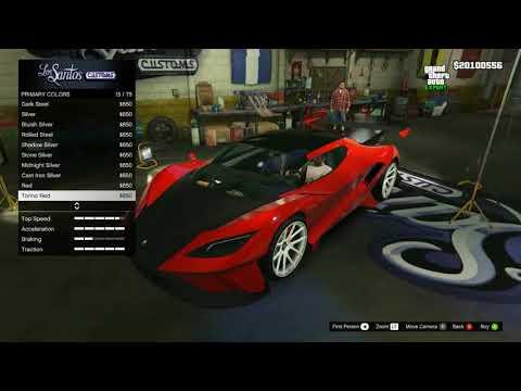 GTA 5 DLC: Overflod Tyrant Customization! GTA Online San Andreas Super Sport Series Update