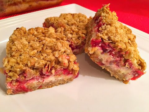 Cranberry Cream Cheese Crisp Recipe - Sweet solution for your cranberry sauce leftover - Episode #78