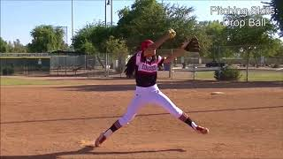 Ashley Murphy 2018 Pitcher/OF Softball Recruit/Skills Video