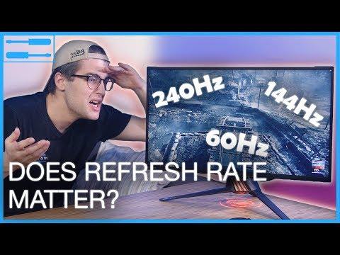PC Setup Customization: Refresh Rate