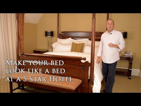 Make your bed like a 5 star hotel...