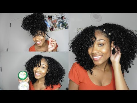 Curly Hair Routine | Ft Jamacian Mango & Lime Pure Naturals