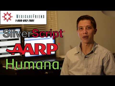 Silverscript Part D vs. Humana vs. AARP & Other Medicare Prescription Drug Plans