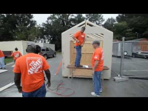 Home Depot helps out veterans
