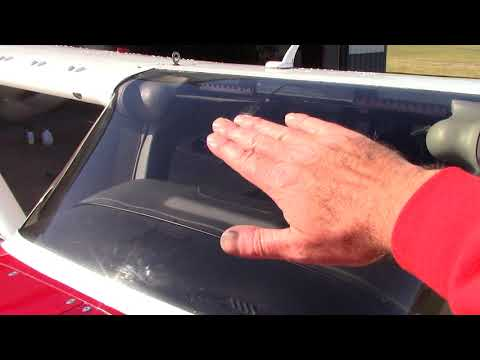 Airplane Detailing - Tips To Cleaning Airplane Windshield!
