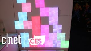 Nanoleaf Light Panels: Color-changing lights that react to your touch