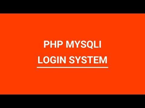 PHP MYSQLI Simple Login System Urdu/Hindi
