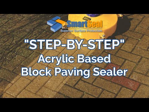 Block Paving Cleaning and Sealing of Driveways and Patios