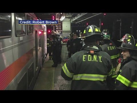 NJ TRANSIT Train Derails At Penn Station