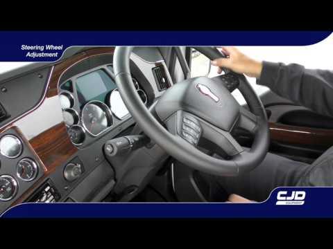007 T610 Driver Training steering wheel adjustment