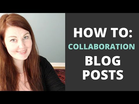 How to Create a Collaboration/Roundup Blog Post