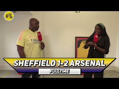Sheffield Utd 1-2 Arsenal   Wembley Is Our Home Ground! (Pippa)