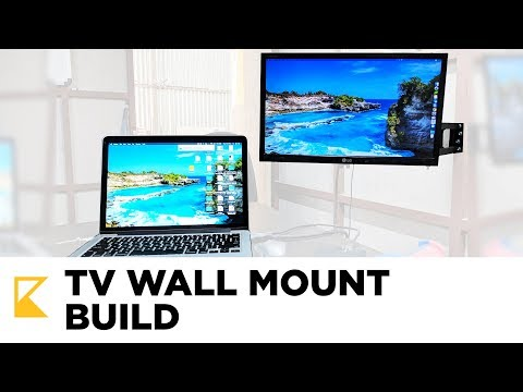 How to build TV Wall Mount // DIY