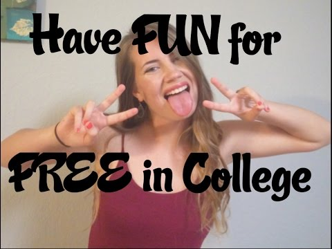 FUN, FREE THINGS TO DO IN COLLEGE