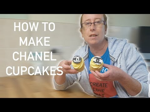 How to Make Chanel Cupcakes - Easy Designer Cakes