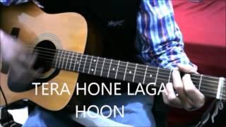 4 chords 9 Best Bollywood songs - Em, D ,C ,G - Guitar cover Chords Lesson Mashup