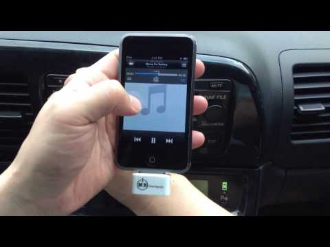 iPod Transmitter for Car Radio