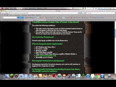 How To Make A Terraria Server (on Mac)
