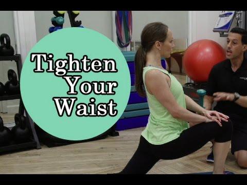 Cinch and Tighten Your Waist + 3-Week Flat Stomach Challenge!