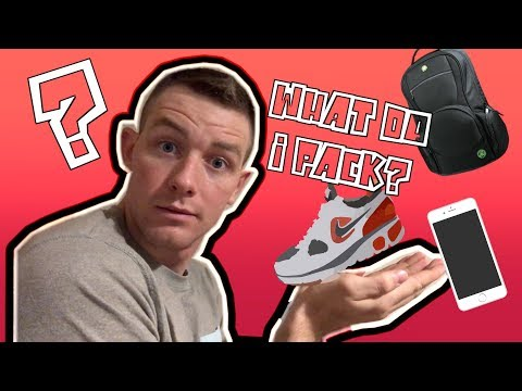 NEW Air Force BMT Packing List 💼 | Do you have everything?